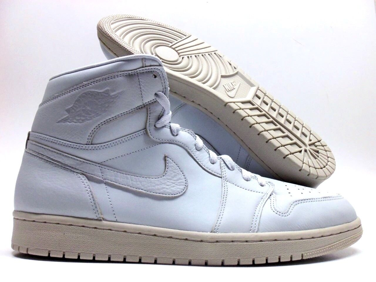 NIKE AIR JORDAN 1 RETRO HIGH PREMIUM PURE PLATINUM SIZE MEN'S 14 [AA3993-030]