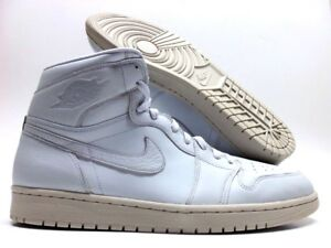 b80d97dd644a NIKE AIR JORDAN 1 RETRO HIGH PREMIUM PURE PLATINUM SIZE MEN S 14 ...