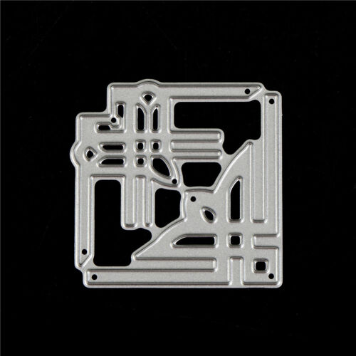 Foto RSDE Karten Ecke Metall Stanzformen Schablone für DIY Scrapbooking Album