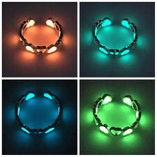Fashion Women's Rings Glow in the Dark Luminous Ring Adjustable Charm Jewelry