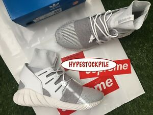 separation shoes 1f6fb 91f35 Details about NEW RARE HTF SZ 11 11.5 Men's ADIDAS TUBULAR DOOM PK GREY  WHITE BY3553