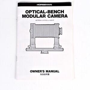 Vintage-Original-Horseman-Optical-Bench-Modular-Film-Camera-Instruction-Manual