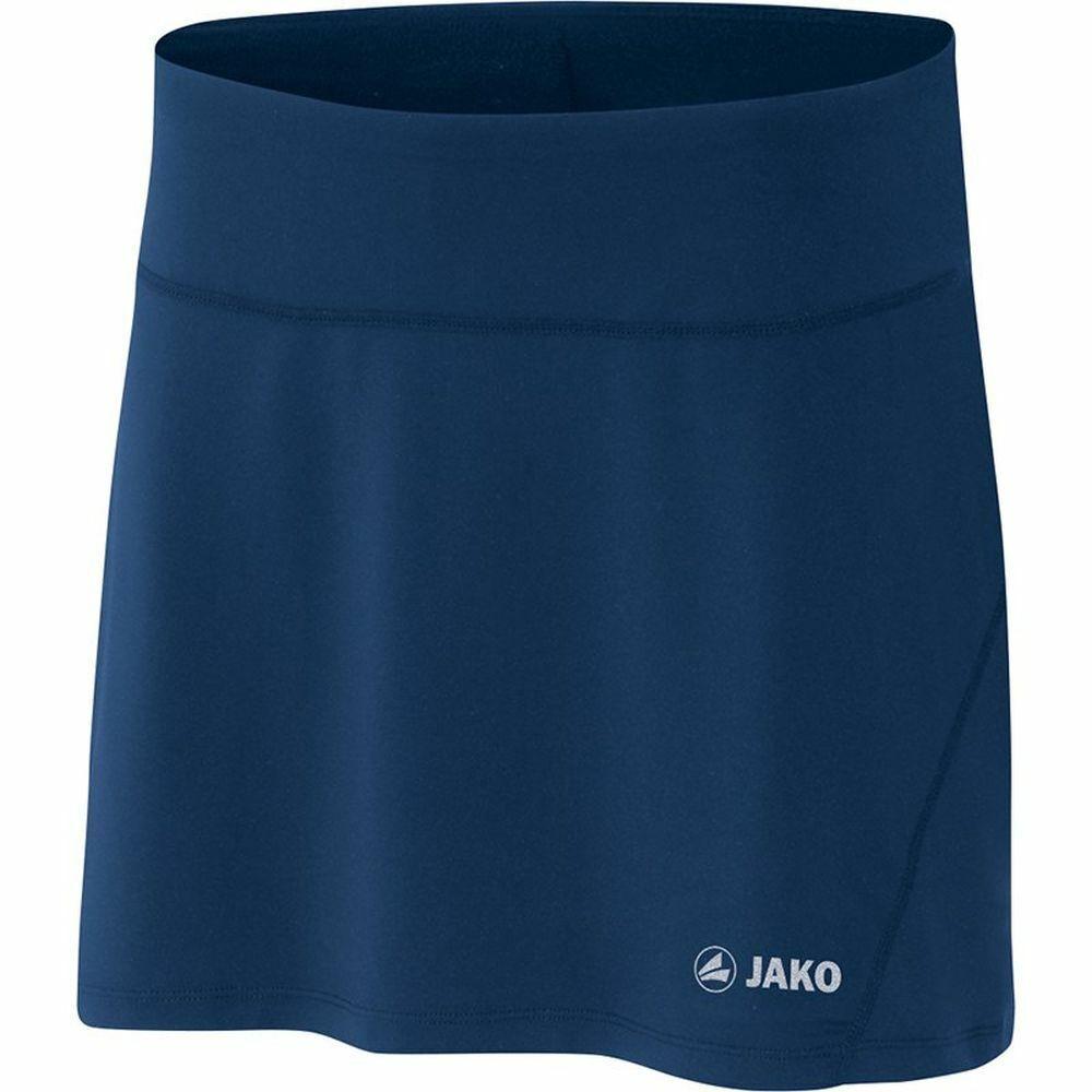 JAKO Laufen & Fitness Skirt Basic Laufen Skirt daSie Navy