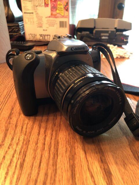 Canon Camera Eos Rebel K2  Cannon Zoom Lens  Ultrasonic