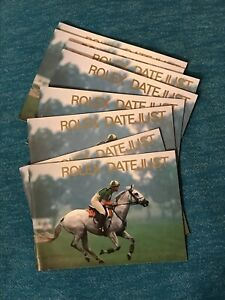 Rolex-Datejust-Booklets-1984-1999-Choose-Date-All-English
