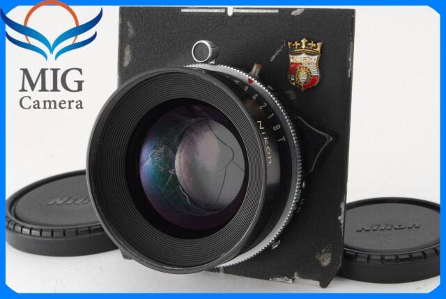 Nikon Nikkor W 180mm F5.6 Lens with COPAL 1 Shutter Wista Board 450