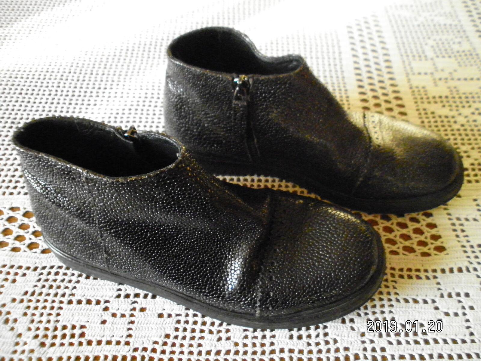 Sconto del 70% a buon mercato RUNDHOLZ linea principale, principale, principale, Scarpe scarpe da ginnastica, Tg. 37, Nero, impresso in pelle, lagenl. traumt.  omaggi allo stadio