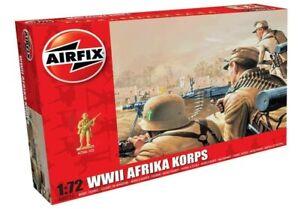 AIRFIX-1-72-WW2-AFRIKA-KORPS-MODEL-INFANTRY-GERMAN-SOLDIERS-KIT-WWII-A00711