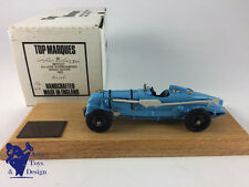 1/43 TOP MARQUES BENTLEY 4.5 LITRE SUPERCHARGED SINGLE SEATER 1929 N°42/300 BLUE