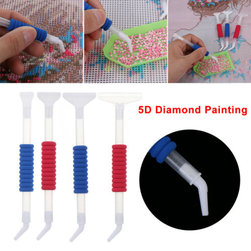 Anti-fatigue Elbow 5D Diamond Point Drill Pen Painting Cross Stitch Accessories