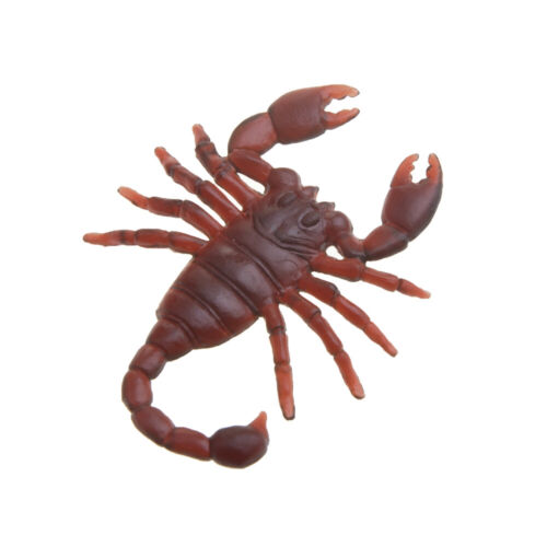 1Pc Realistic Bugs Fake Cockroaches Spiders Worms Flies Halloween Decor Scary
