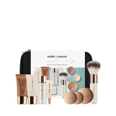 NEW Nude By Nature Natural Beauty Good for You Complexion Collection Light