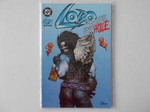 Discret Lobo Volume Spécial # 1. Le Paradis Et L'enfer (limitée 1332 Nº 895. Bleu) Dino Comics-afficher Le Titre D'origine