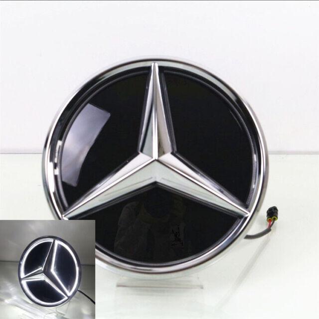 Illuminated LED Light Front Grille Star Emblem Badge For Benz GLC GLE GLS 16-19