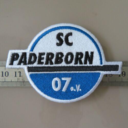 Aufnäher Patch FC Fußball Football club Paderborn Iron on Bügelbild Aufbügler