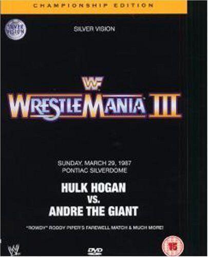 Wwe - WWE - Wrestlemania III The Championship Edition [DVD] - DVD  G8VG The