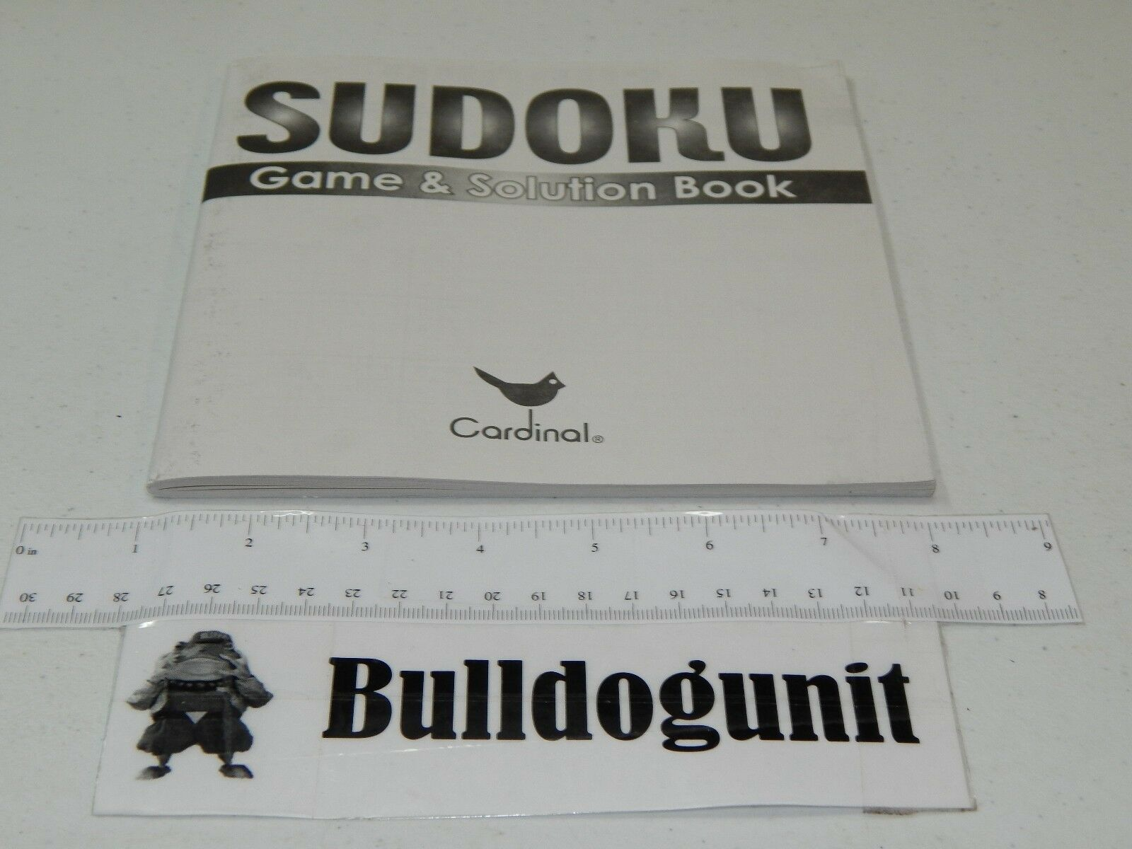 2006 Original Sudoku Game Replacement Book Puzzle & Solution Book Replacement Only 14cf55