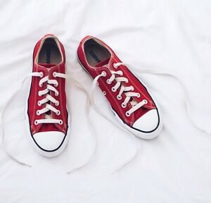 2e7bfb877db8 Image is loading Red-Converse-Chuck-Taylor-All-Star-Classic-Colours-