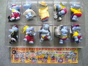 Die Happy Hippo Hollywood Stars mit BPZ 1997 SATZ