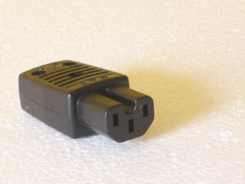 kupplung    8493 W Schurter Kaltgerätestecker