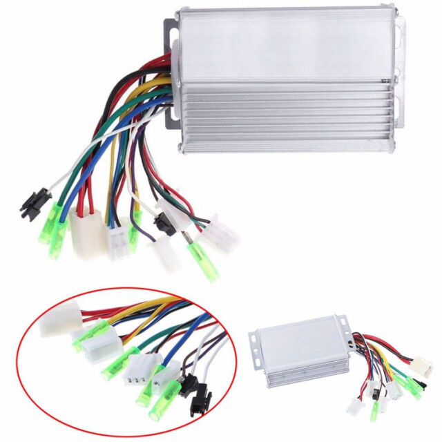 36v/48v 350w Electric Bicycle E-bike Scooter Brushless DC Motor Controller  in US for sale online | eBayeBay
