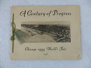 CHICAGO 1933 WORLD'S FAIR A Century of Progress Photography Cardinell Century