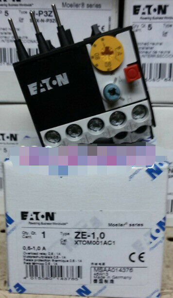 1PC  NEW   EATON  MOELLER  ZE-1.0  0.6-1A   ZE-1,0   free shipping &R1