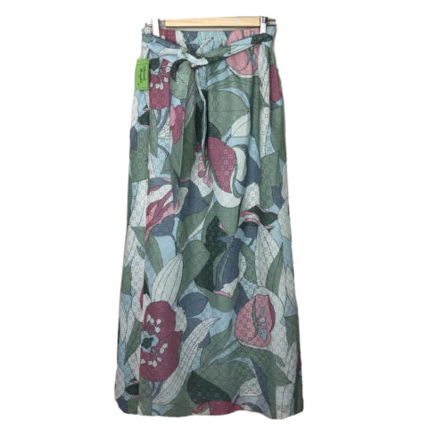 NWT NOS Separate Thoughts Nardis Maxi Skirt Flower