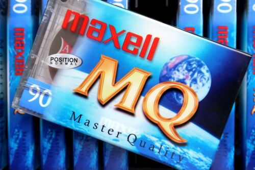MAXELL MQ 90 PREMIUM NORMAL POSITION TYPE I BLANK AUDIO CASSETTE 2002