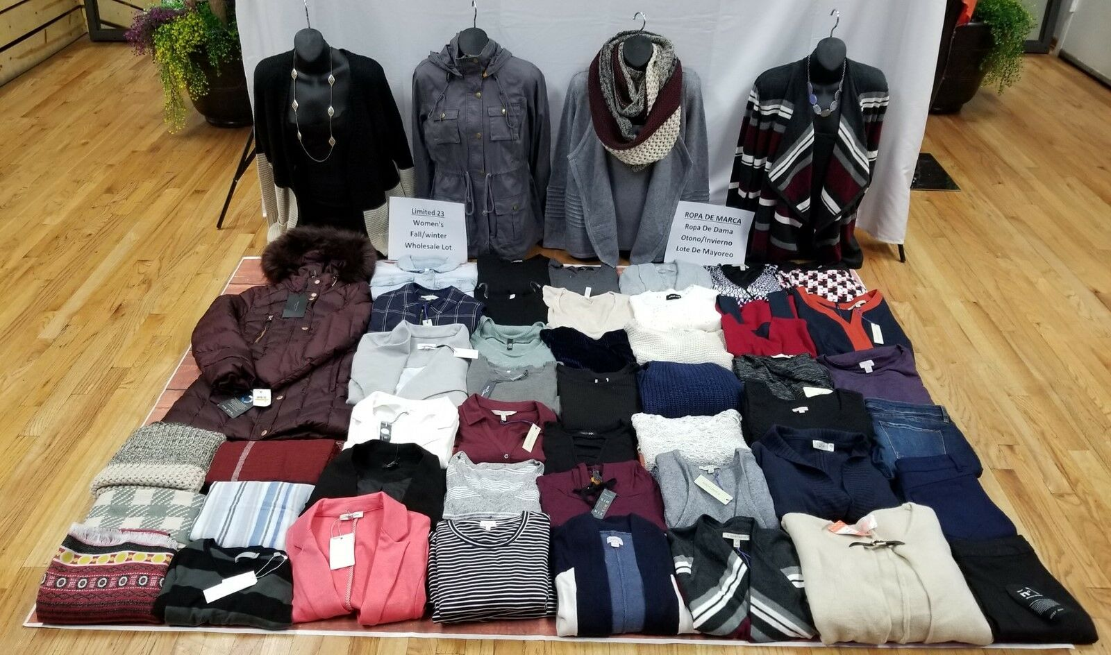 New Women's Fall Winter Wholesale Lot 50 Pieces Stitch Fix Brands