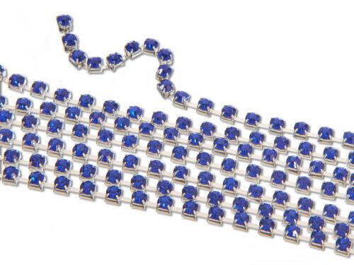 Rhinestone Cup Chain EIMASS® 3575 Wholesale 10m  Diamante Glass Crystal Trimming