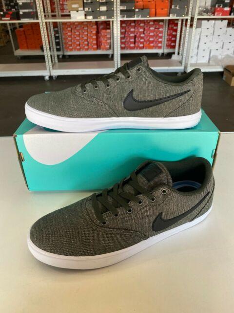 Nike Men S Sb Check Solar Cnvs Prm Skate Shoe 10 5 For Sale Online Ebay