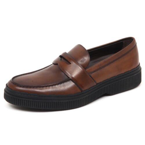 E5108 Effect Man Uomo Mocassino Scarpe Brown Loafer Vintage Tod's Shoe S6rSwqxYp