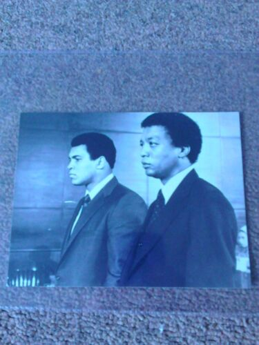 """The Greatest"" Muhammad Ali with Paul Winfield Film Photograph 6x 4 12"""