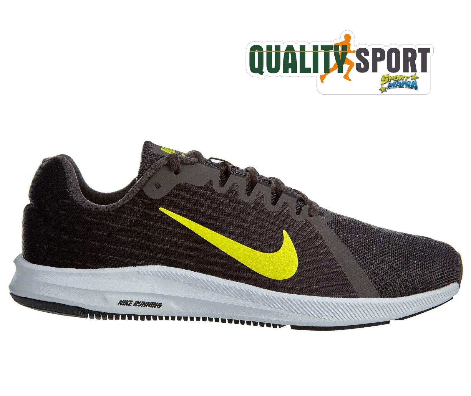 reputable site f6b61 550f0 Nike Uomo Downshifter 8 Grigio Scarpe Shoes Uomo Nike Sportive Running  908984 010 2018 c1e6f6