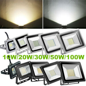 10W-20W-30W-50W-100W-LED-Flood-Light-Spot-Lamp-Outdoor-Garden-Landscape-Yard