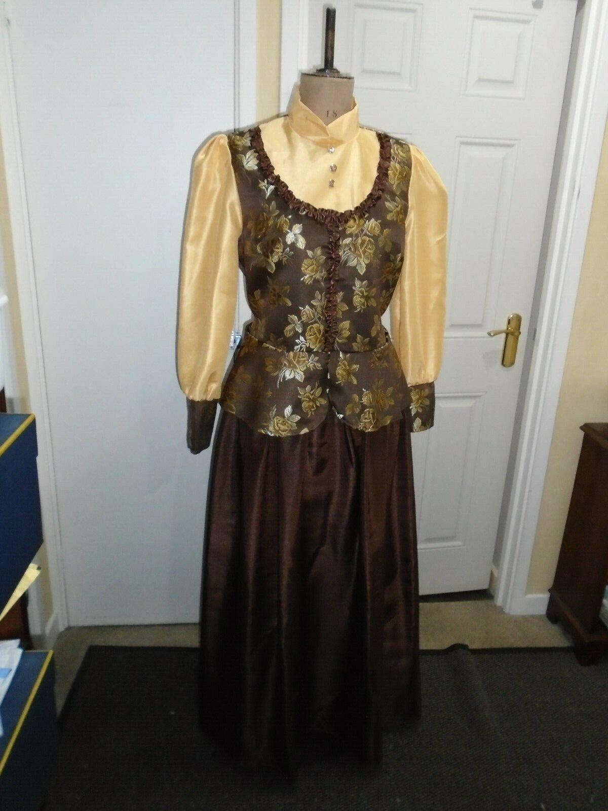 Victorian Ladies dress large size