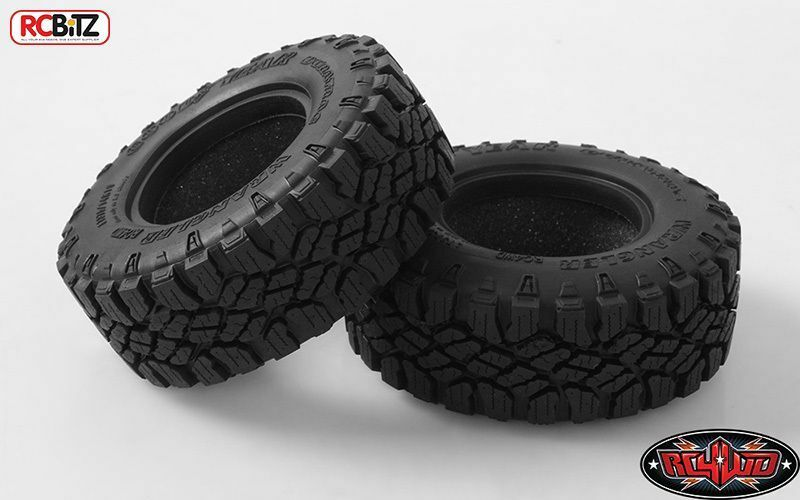 RC4WD Goodyear Wrangler Duratrac 1.9  Scale Tires CLASS 1 Tyre Z-T0150 Soft foam