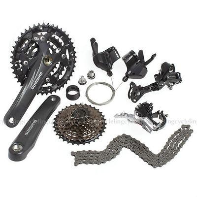 New SHIMANO Mountain Bike Acera M3000 Group Set 3x9//27 Speed 170mm 7pcs//Set