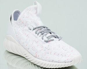 Adidas-Originals-Tubular-Doom-Chaussette-Primeknit-PK-Baskets-Neuf-Blanc-Creme-CQ0941
