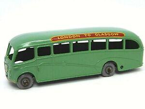 Matchbox-Lesney-Bedford-Duple-entrenador-de-lujo-No-21b-mas-raro-verde-claro-con-GPW