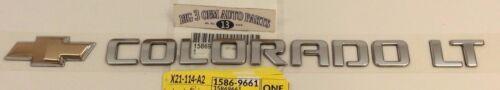 09-12 Chevrolet Colorado Tailgate Colorado LT Emblem W// Bowtie new OEM 15869661