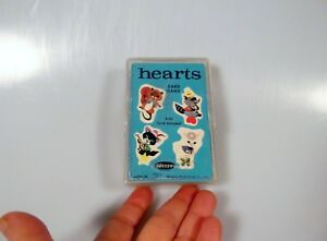 Vintage-Hearts-Children-039-s-Card-Game-45-Cards-Whitman-Complete-w-Case-1963-4494