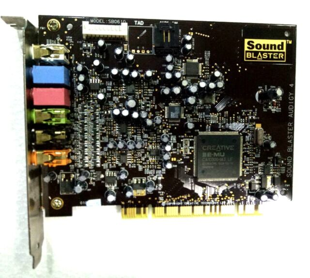 SOUND BLASTER AUDIGY 4 DRIVER PC