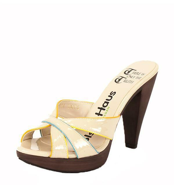 Olsenhaus Capri Heel in Nude Size 6 & 8 Available