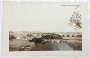 VIEW-OF-STITTVILLE-N-Y-1913-RPPC-ANTIQUE-PHOTO-POSTCARD