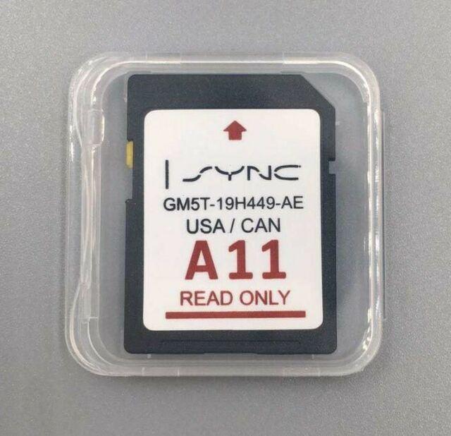 ✅ A11 LINCOLN FORD GPS SD CARD UPDATE 2020 USA CANADA SYNC Explorer F-150 Edge