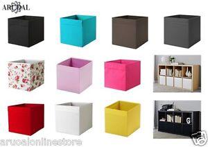 IKEA-DRONA-Storage-Box-fits-NORNAS-amp-KALLAX-Unit-for-Magazines-Toys-Clothes-DRONA