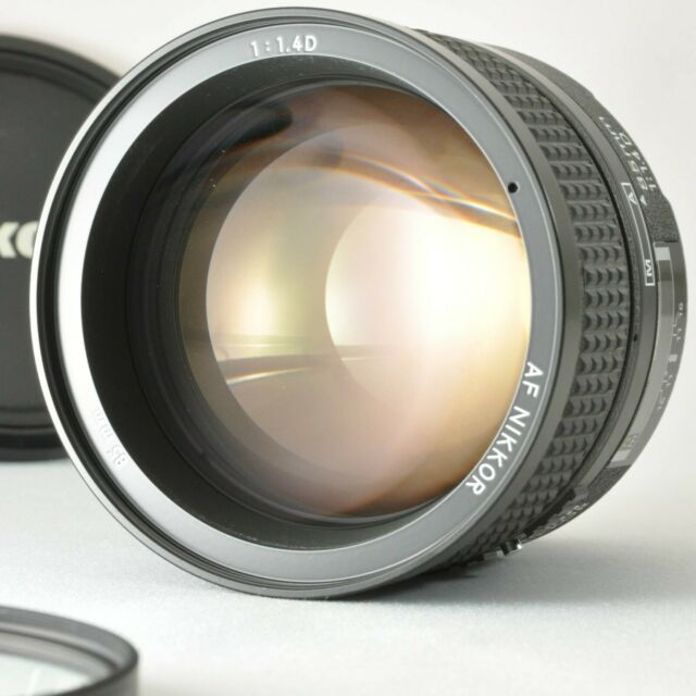 [Exc+++] NIKON AF Nikkor 85mm f/1.4 D Portrait Full Frame Lens from Japan