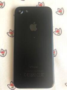 Coque-Arriere-Chassis-iPhone-7-Noir-Mat-avec-boutons-et-tiroir-sim